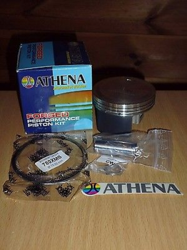KYMCO KXR 250 KOLBEN KOLBENRINGE PISTON RING 77,94 mm ATHENA