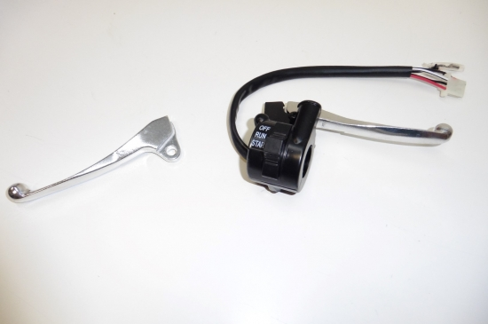 YAMAHA PW 50 BREMSHEBEL BREMSARMATUR LENKERSCHALTER BREMSE BRAKE HANDLE SWITCH
