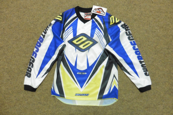 SHOT RACE GEAR TRIKOT FAHRERHEMD HEMD MOTOCROSS MX CROSS YAMAHA GR. 6 7