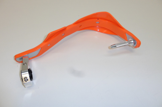 Handprotektoren Handguards Handschützer Aluminium Integral orange Supermoto Mx Enduro Cross