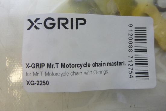 X-Grip Mr.T Kettenschloss für O-Ring Kette 520 Enduro Cross Mx Sumo