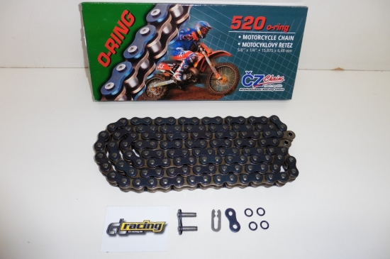 Cz Chains Kette O-Ring 520 Orm verstärkt 118 Glieder Enduro Cross Mx Sumo