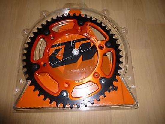 Kettenrad Power Parts Power Part Ktm Exc 250 300 350 350 450 500 530 Z 42 orange